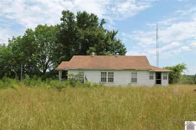 Smithland, Tiline Single Family Home Contract Recd - See Rmrks: 1453 Tiline Rd