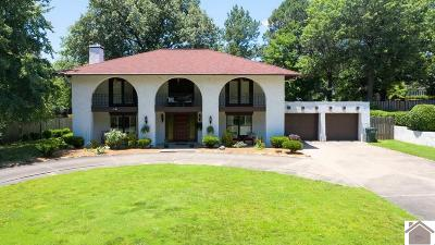 Paducah Single Family Home For Sale: 1235 Hedge Lane