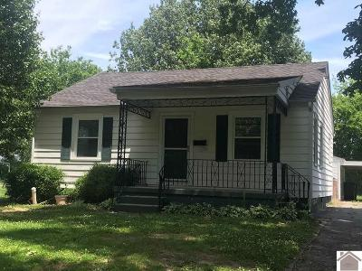Paducah Single Family Home For Sale: 732 N 26th Street