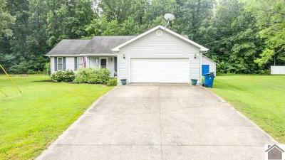 Paducah Single Family Home Contract Recd - See Rmrks: 1735 Creekview Drive
