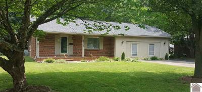 Calloway County, Marshall County Single Family Home For Sale: 1618 Loch Lomond