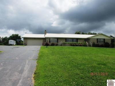 Benton Single Family Home For Sale: 1056 Hwy 641 North