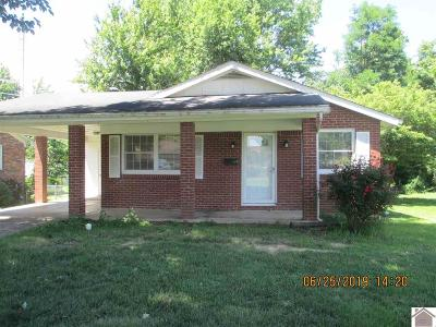 Mayfield Single Family Home Contract Recd - See Rmrks: 603 Barger Street