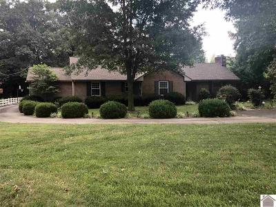 Calloway County, Marshall County Single Family Home For Sale: 1407 S 12th Street