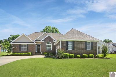 Paducah Single Family Home For Sale: 5225 Buckner Lake Circle