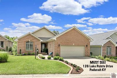 McCracken County Single Family Home For Sale: 126 Lake Pointe Drive