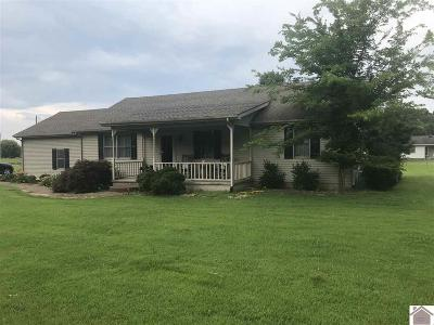Benton KY Single Family Home For Sale: $139,500
