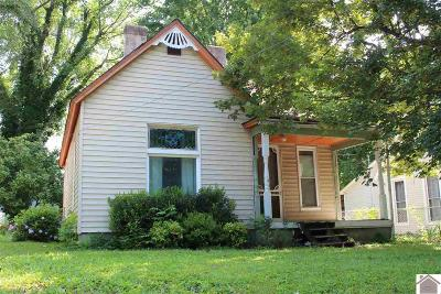 Princeton KY Single Family Home Contract Recd - See Rmrks: $38,000