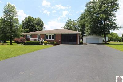 Benton KY Single Family Home For Sale: $122,500