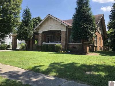 Benton KY Single Family Home For Sale: $134,900