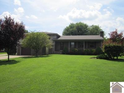 Benton KY Single Family Home For Sale: $213,900