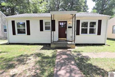 Paducah Single Family Home For Sale: 906 N 26th