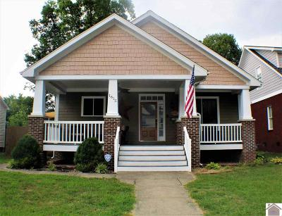 Paducah Single Family Home Contract Recd - See Rmrks: 1615 Madison St