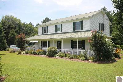 Hardin Single Family Home Contract Recd - See Rmrks: 1080 Rudolph Rd