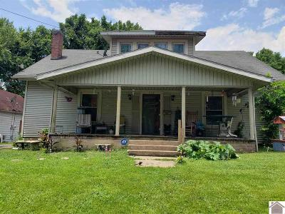 Princeton Single Family Home For Sale: 316 S South Jefferson St.