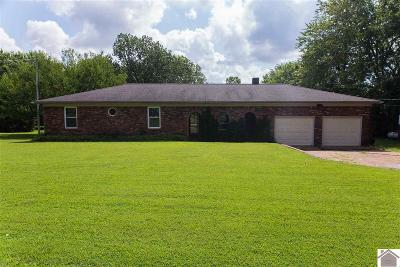 Paducah Single Family Home For Sale: 2600 Holt Road