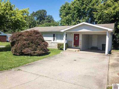 Calvert City Single Family Home For Sale: 588 Elder Street