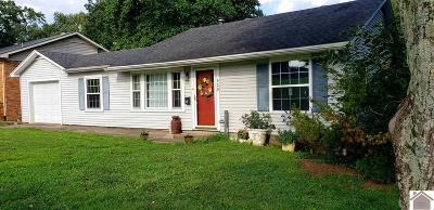 Benton KY Single Family Home For Sale: $109,900