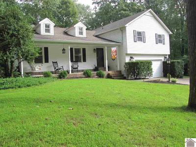 Calvert City KY Single Family Home For Sale: $205,000