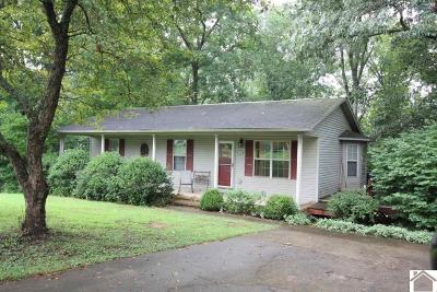 Trigg County Single Family Home For Sale: 133 Cherokee Ct