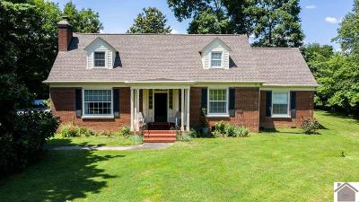 Paducah Single Family Home Contract Recd - See Rmrks: 5135 Alben Barkley Drive