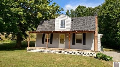 Lyon County, Trigg County Single Family Home For Sale: 1220 State Route 1055