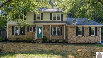 Paducah Single Family Home Contract Recd - See Rmrks: 1228 Hedge Lane