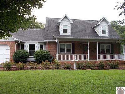 Paducah Single Family Home For Sale: 4500 Wellingborough Lane