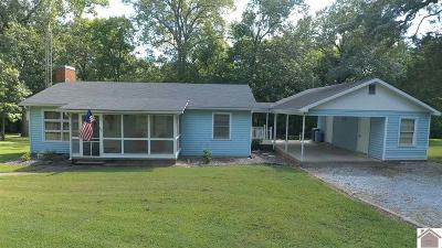 Calloway County, Marshall County Single Family Home Contract Recd - See Rmrks: 2016 Cypress Rd.