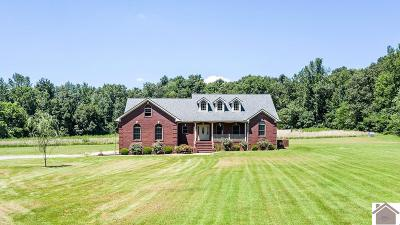 Calloway County, Marshall County Single Family Home For Sale: 2534 Houser Road