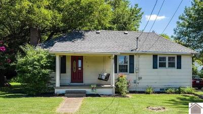 Paducah Single Family Home Contract Recd - See Rmrks: 126 S Concord Ave