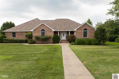 Paducah Single Family Home For Sale: 105 Willow Cove