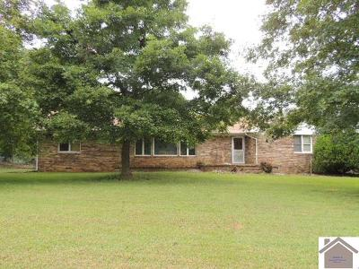 Graves County Single Family Home For Sale: 161 Golden Spur Rd
