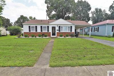Paducah Single Family Home Contract Recd - See Rmrks: 2822 Georgia St