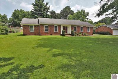 Paducah Single Family Home For Sale: 185 Reid Circle