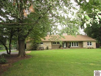 Paducah Single Family Home Contract Recd - See Rmrks: 4756 Buckner Lane