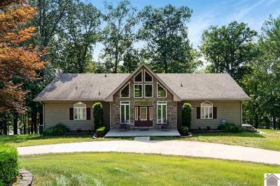 Livingston County, Lyon County, Trigg County Single Family Home For Sale: 33 Fox Hunt
