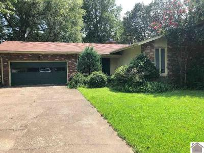 Calloway County, Marshall County Single Family Home For Sale: 1621 Cardinal