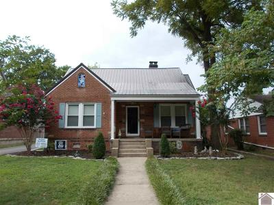 Paducah Single Family Home Contract Recd - See Rmrks: 3415 Forest Circle
