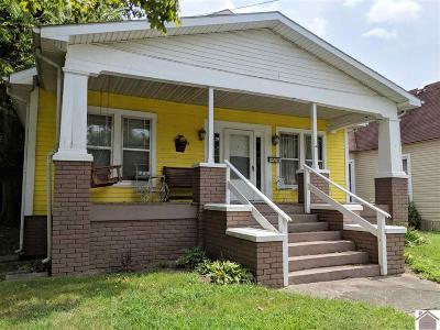 Paducah Single Family Home Contract Recd - See Rmrks: 1106 Ellis Street