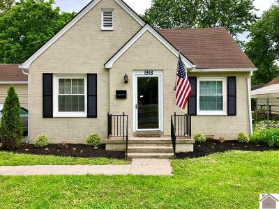 Paducah Single Family Home For Sale: 1918 Monroe Street
