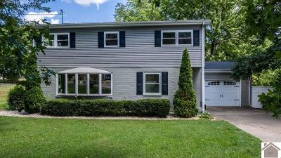 Paducah Single Family Home For Sale: 108 Cambridge Drive