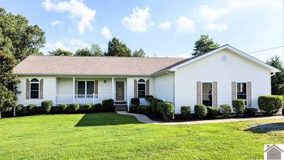 Calloway County, Marshall County Single Family Home For Sale: 124 Henry Sledd Road
