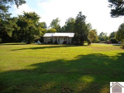 Paducah Single Family Home For Sale: 4735 Benton Rd