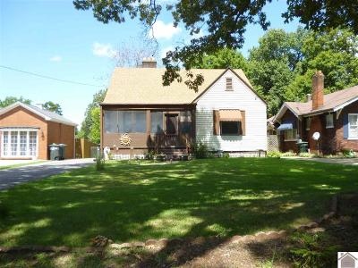 Paducah Single Family Home For Sale: 3423 Central Ave