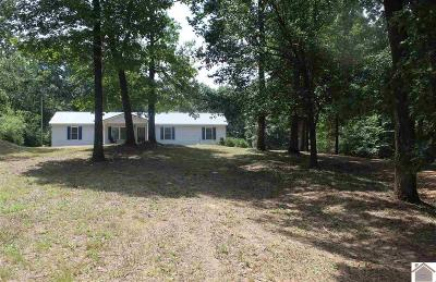 Graves County Single Family Home For Sale: 1981 Westplains Road