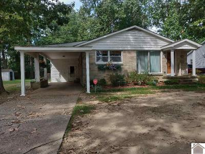 Paducah Single Family Home For Sale: 521 Joe Clifton