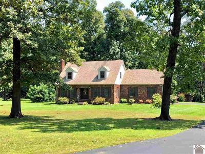 Benton Single Family Home For Sale: 1659 Lamb Rd.