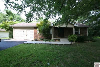 Benton Single Family Home For Sale: 588 Fairview