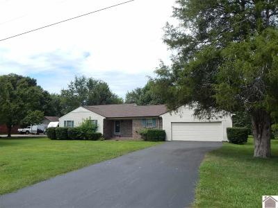 Benton Single Family Home For Sale: 822 Parkway Dr